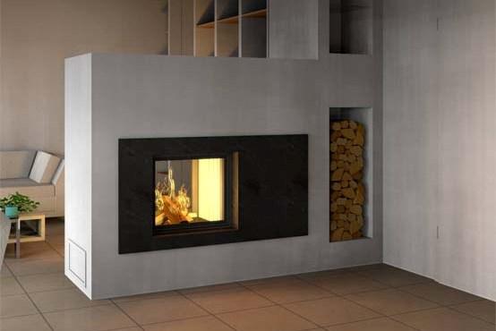 brunner bsk 08 stil kamin tunnel 51 67 lifting door side open hot air. Black Bedroom Furniture Sets. Home Design Ideas